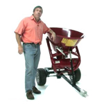Pull Behind Fertilizer Spreader by King Kutter