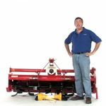 Everything Attachments 74 Inch Chain Drive Tiller